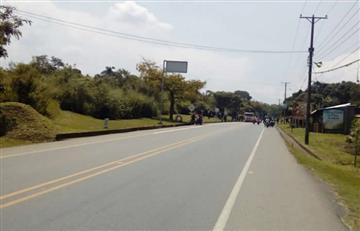 Bloqueo de indígenas en Cauca dejó un periodista herido