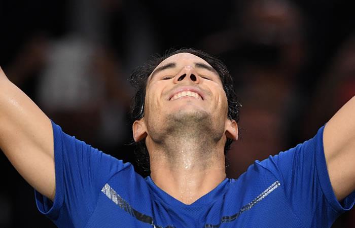 Rafael Nadal termina el año como el número 1 del tenis mundial
