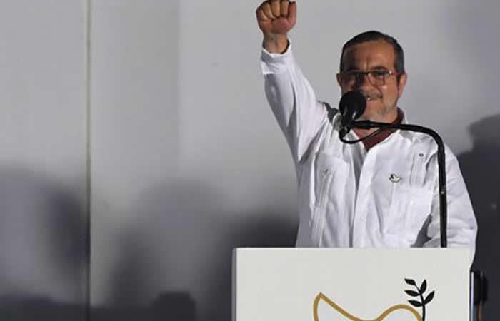 Rodrigo Londoño, 'Timochenko', candidato a la Presidencia