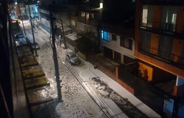 Video: Bogotá presenta emergencia por fuerte granizada