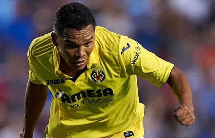 Carlos Bacca anota gol con el Villarreal en la Europa League