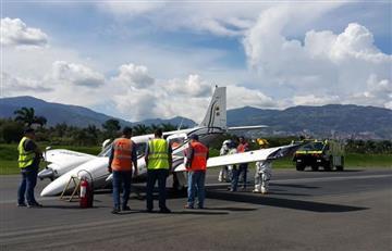 Cierre por dos horas del aeropuerto Olaya, ante aterrizaje de emergencia