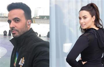 Demi Lovato y Luis Fonsi estarían realizando un trabajo musical