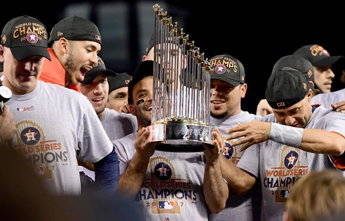 Serie Mundial: Los Astros se coronan por primera vez campeones