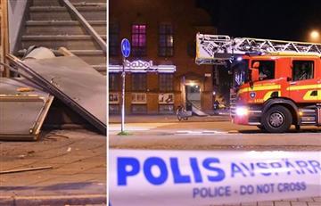 Explosión en una discoteca de Malmo, Suecia