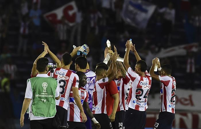 Junior igualó sin goles con Sport Recife. Foto. AFP