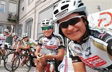 Las colombianas buscan ser parte del ciclismo profesional