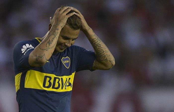 Edwin Cardona, figura en la victoria de Boca ante River Plate