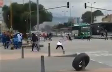 Santa Fe Vs. América: Disturbios en las afueras del Campín