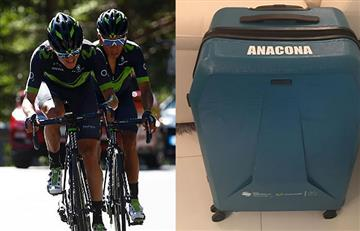 Winner Anacona recuperó su maleta