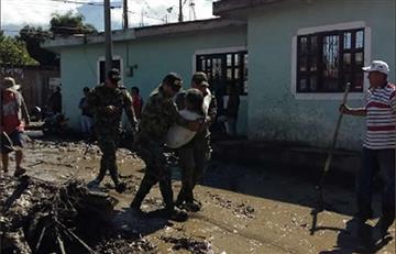 Avalancha en Corinto, Cauca, deja cuatro muertos y 18 desaparecidos