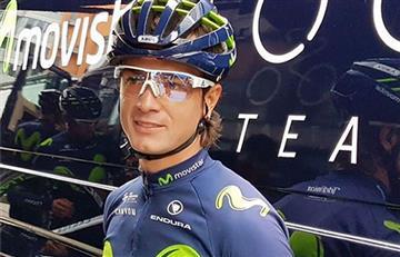 Carlos Betancur va por el liderato en el Movistar Team
