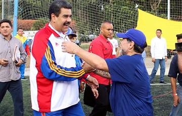 Maradona y su mensaje de apoyo incondicional a Nicolás Maduro