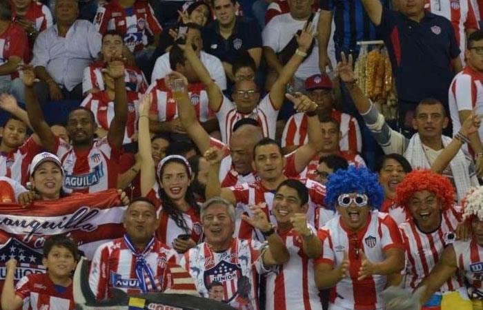 Tarde cívica en Barranquilla por la final de la Copa Águila entre Junior y DIM