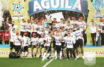 Copa Colombia: Junior alcanza el título tras superar a Medellín