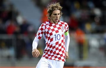 Croacia de Modric mucho más cerca del Mundial tras golear a Grecia