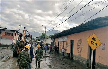 La cifra de víctimas aumenta a 11 por la avalancha en Corinto, Cauca