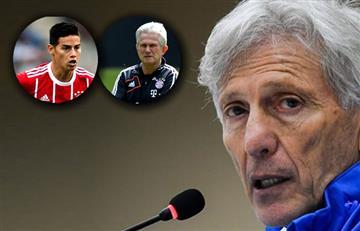 Pékerman rompe el silencio sobre James y le responde a Heynckes del Bayern