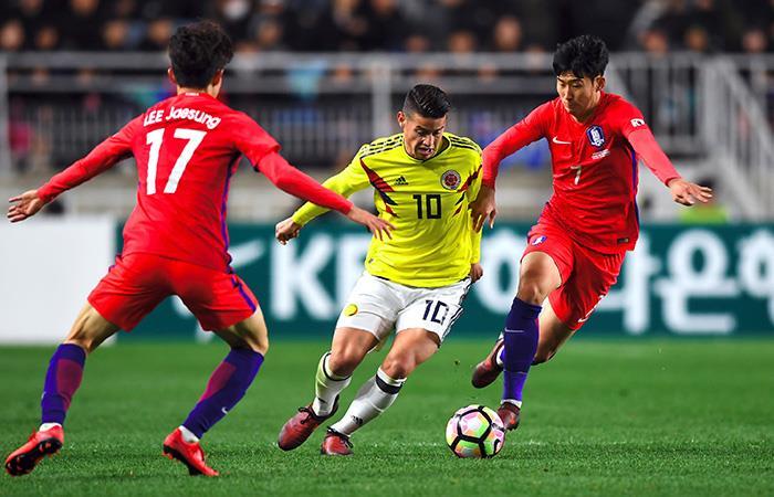James Rodríguez no jugaría ante China