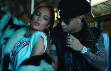 Jennifer López estrena videoclip 'Amor amor amor' junto a Wisin