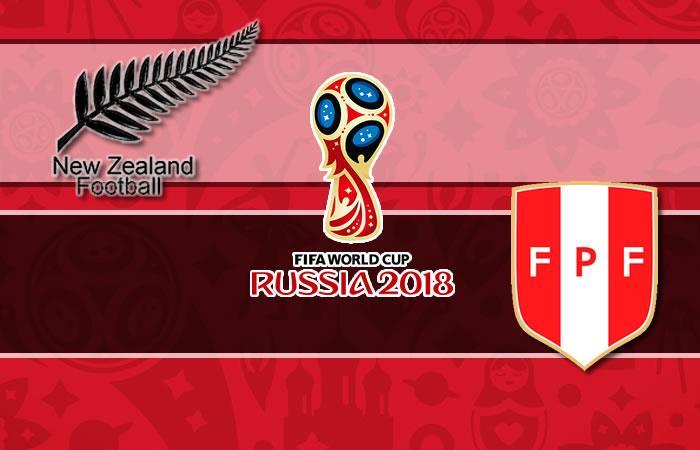Nueva Zelanda vs. Perú: Transmisión EN VIVO por TV y Online