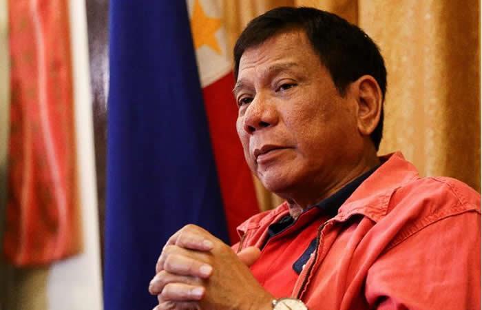 Presidente filipino Duterte confesó un asesinato
