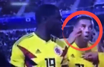 Selección Colombia: Así se burló Cardona de un coreano