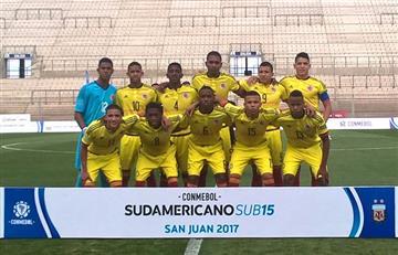 Selección Colombia: La sub-15 empató con Uruguay en el Suramericano
