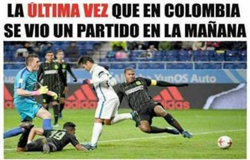 Selección Colombia: Los memes no perdonaron a la 'tricolor'
