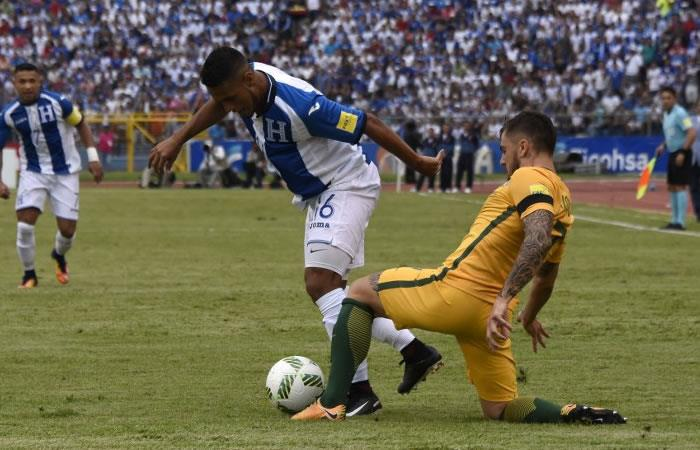 Australia empata a ceros con Honduras en primer repechaje