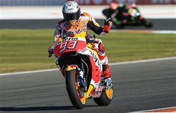 Marc Márquez consigue la 'pole' en el GP de Valencia