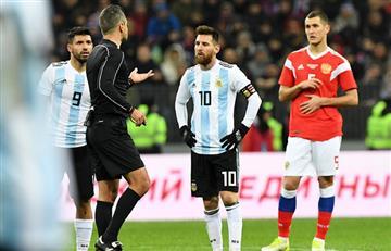 Messi y las emotivas palabras tras el encuentro con Rusia