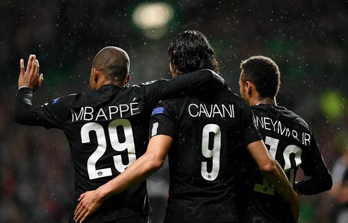 Neymar, Cavani y Mbappé: ¿En la 'Liga de la Justicia'?