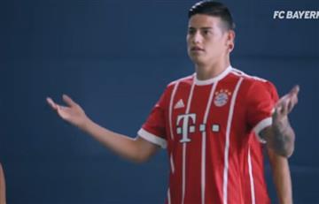James Rodríguez protagonista en la nueva propaganda de Audi