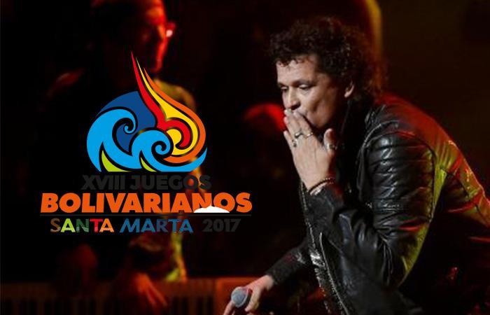 Juegos Bolivarianos: Carlos Vives y Gabriel García Márquez marcaron la inauguración