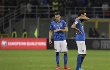 Italia empató con Suecia y se quedó sin Mundial