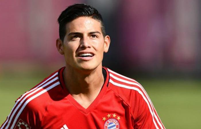 James Rodríguez volvió a Alemania y ya entrena con el Bayern Múnich