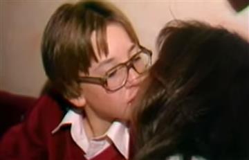 Vídeo: Demi Moore besa apasionadamente a niño en fiesta