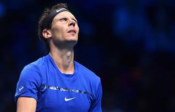 Rafael Nadal: Por molestias en la rodilla se retira del Masters de Londres