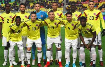 Selección Colombia: Alineación oficial para enfrentar a China
