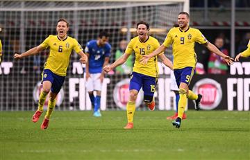Suecia: El equipo acabó con Italia y de paso con un set de noticias