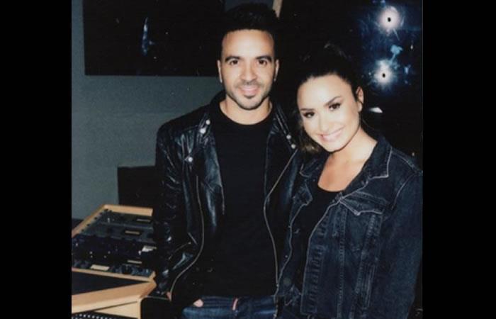 Demi Lovato canta en español junto a Luis Fonsi y revela adelanto