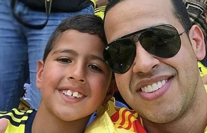 Hijo de Martín Elías da sentido mensaje a su padre por cumpleaños