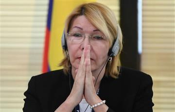 Exfiscal Luisa Ortega denunció a Maduro ante Corte Penal Internacional