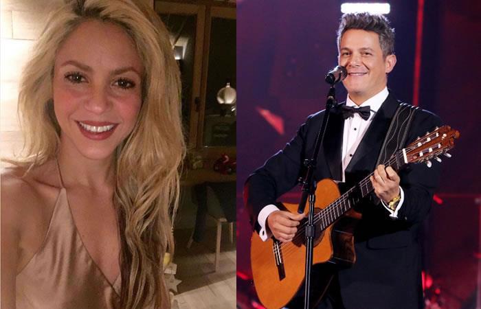 Latin Grammy: Shakira y las emotivas  palabras hacia a Alejandro Sanz