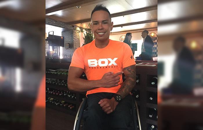 Miguel Ángel Rincón, deportista paralímpico que enorgullece a Colombia