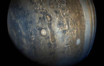 NASA: Revelan sorprendentes fotografías de Júpiter