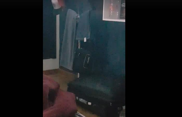 Youtuber Oxlack Castro, es sorprendido por supuesto suceso paranormal