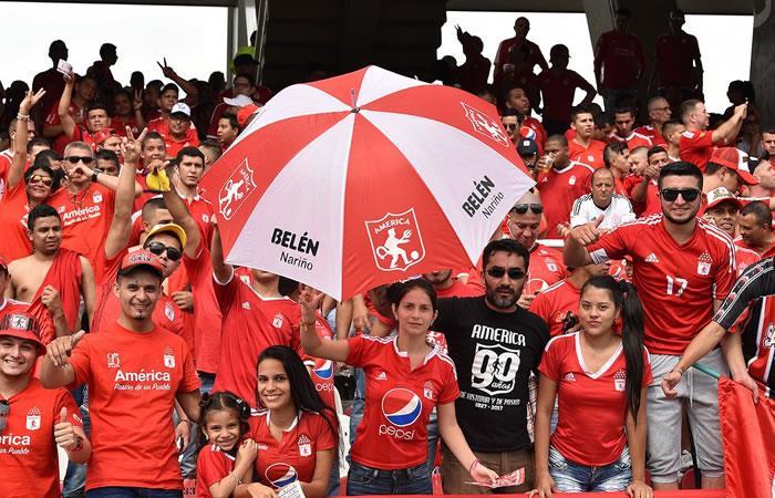 América de Cali: Increíble  lo que prepara la hinchada para el partido contra Bucaramanga