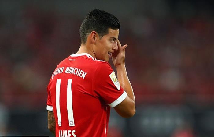 Las malas noticias para el Bayern son buenas noticias para James